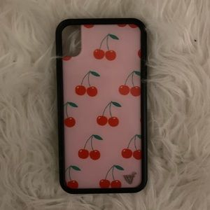 WildFlower iPhone XR Cherry Phone Case 🍒